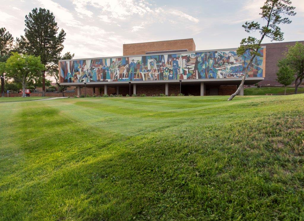 The Dixie State University mural is the 3rd largest in the country