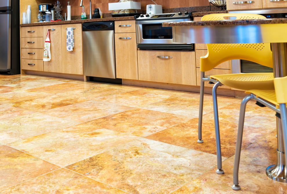 The kitchen at Richens Eye Center